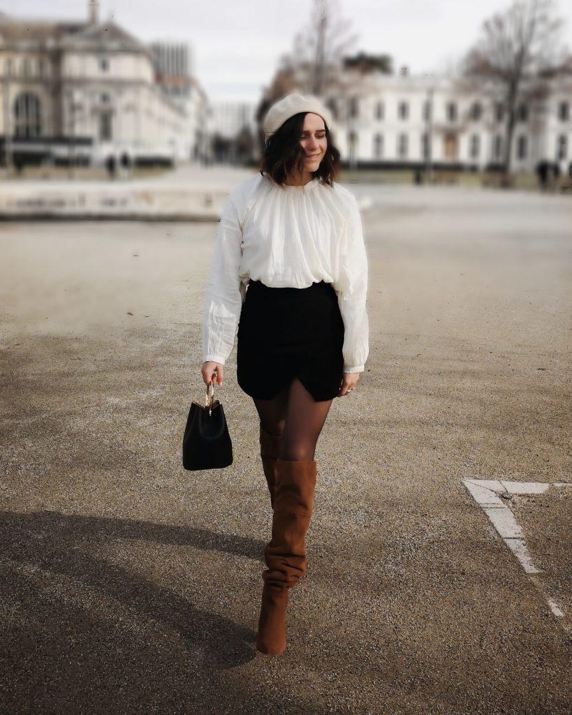 blouse boutonnée