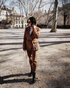 costume velours côtelé