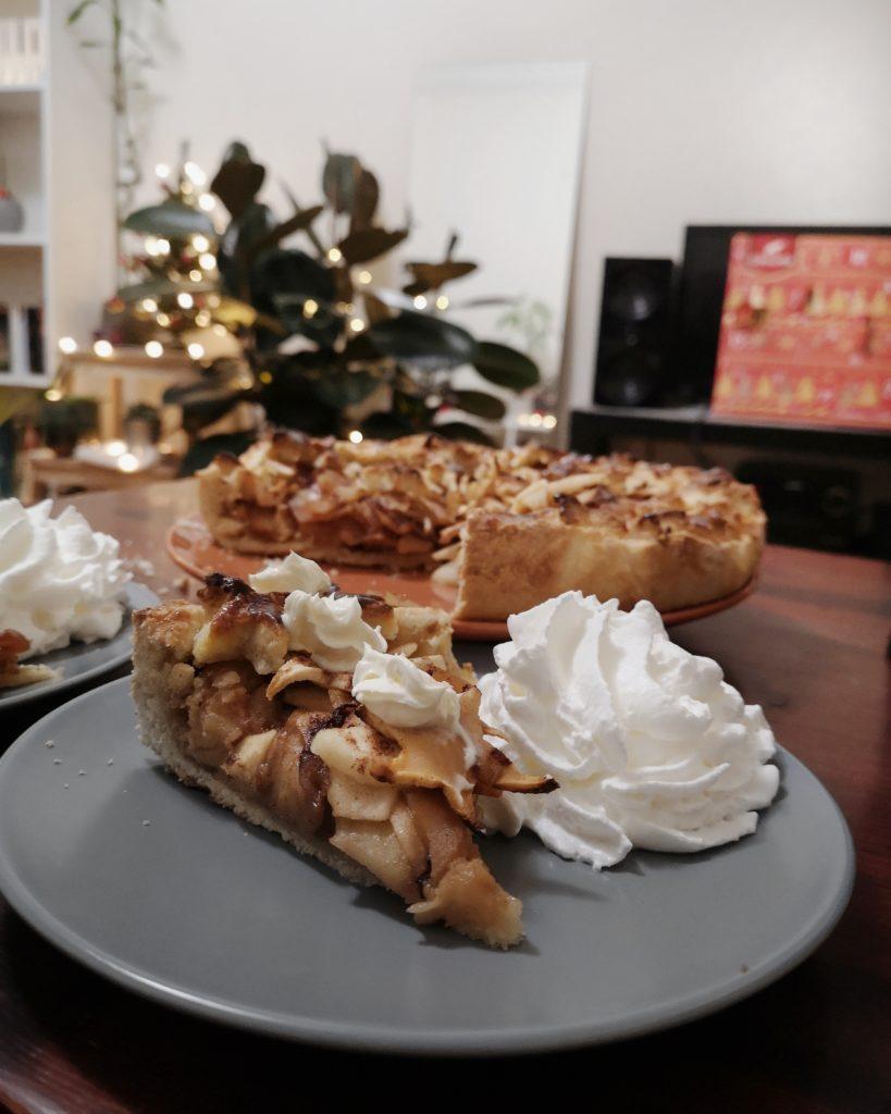 tarte aux pommes de Noel