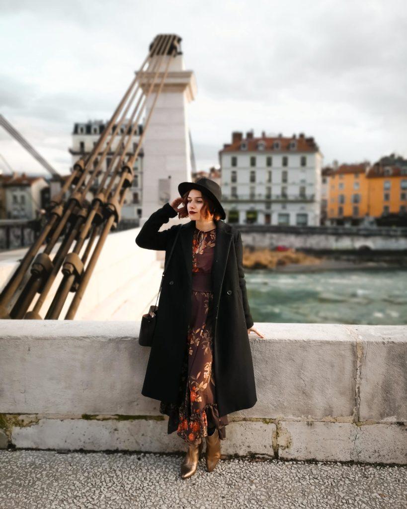 robe longue en hiver