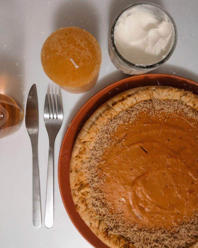 tarte patates douces et carottes